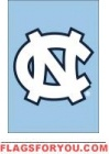 """North Carolina Tar Heels Garden Window Flag 15"""" x 10.5"""""""