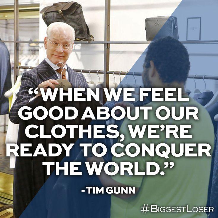 Tim Gunn knows makeovers! #BiggestLoser
