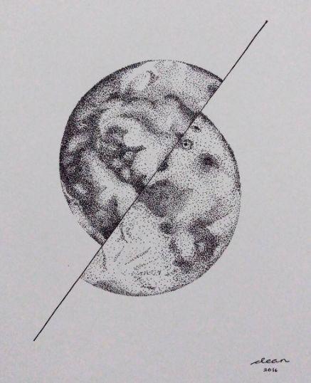 Illustration - The Moon