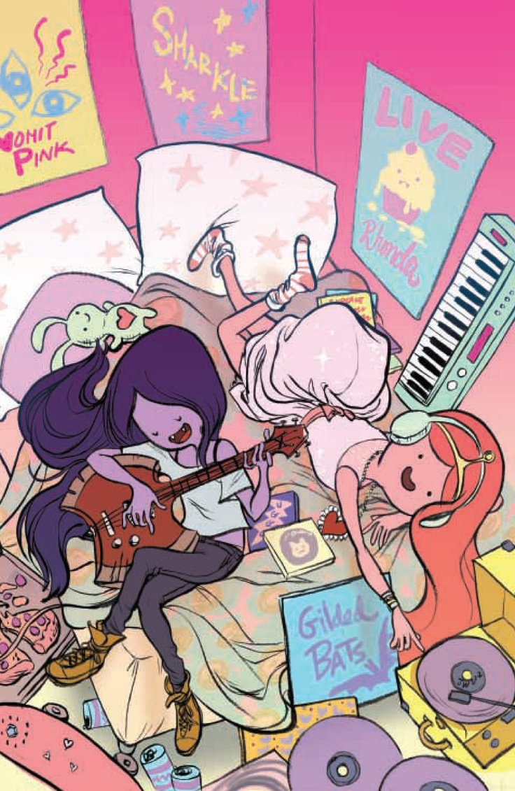 Marceline y Chicle