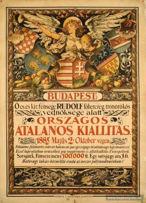 Benczúr Gyula - Hungary General Exhibition, 1885