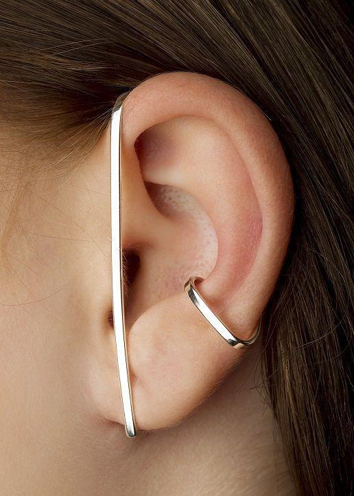 Wraparound ear cuff | EARRINGS