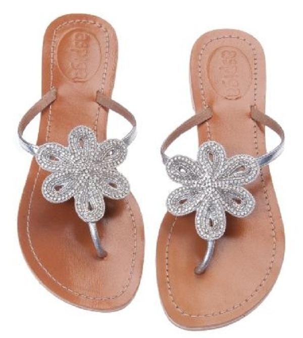 "SplendidAvenue.com - .Image of Aspiga Leather ""Bari"" Sandal - Silver $129Shoes, Summer Sandals, Style, Bari Silver, Silver Sandals, Clothing Accessories, Leather Bari, Fashion Accessories, Leather Sandals"