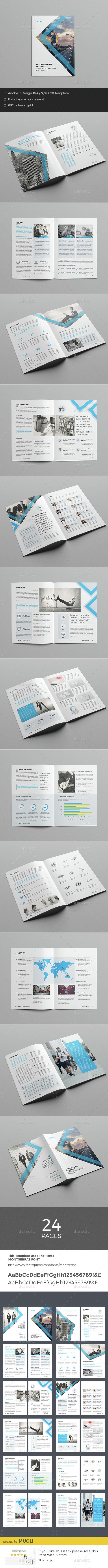 Business Brochure Template InDesign INDD. Download here: http://graphicriver.net/item/business-brochure/14734303?ref=ksioks