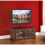 """Free Shipping. Buy Whalen High TV Stand for TVs up to 50"""", Rich Espresso Finish at Walmart.com"""