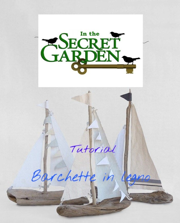 Barchetta in stile Coastal - In the Secret Garden