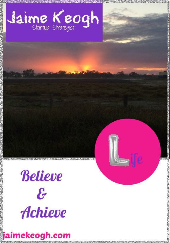 Read the blog post today: http://www.jaimekeogh.com/2016/09/05/believe-achieve/
