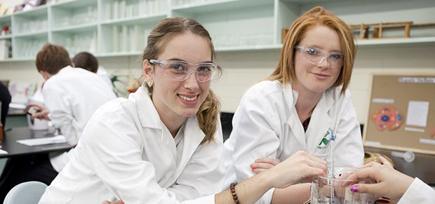 Hawker College science students