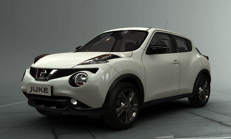 New Nissan Juke 2014 White and Black, Creative Line