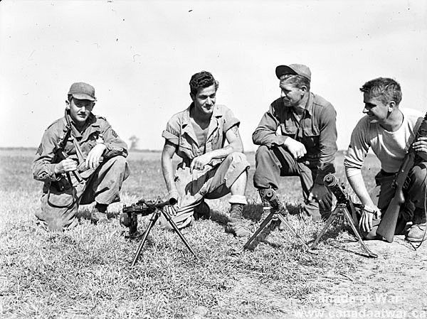 One of the most unique combat units in Italy was the First Special Service Force - http://www.warhistoryonline.com/war-articles/one-of-the-most-unique-combat-units-in-italy-was-the-first-special-service-force.html