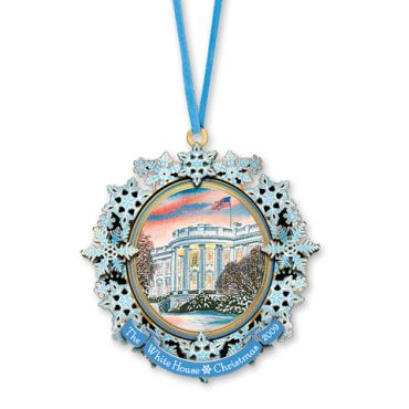 <p>The only president of the United States elected to two non-consecutive terms, Grover Cleveland served as the 22nd president from 1885 to 1889 and as the 24th from 1893 to 1897. The 2009 White House Christmas ornament commemorates the 24th presidency and it is the second of two produced in Cleveland's honor ...