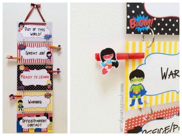 Superhero Classroom Decor Printables ~ Best ideas about superhero behavior chart on pinterest