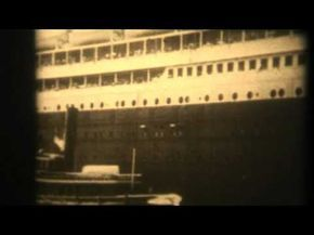 VERY OLD FILM OF THE TITANIC VERY RARE FILM, RMS Titanic was a passenger liner that sank in the North Atlantic Ocean on 15 April 1912 after colliding with an iceberg during her maiden voyage from Southampton, UK to New York City, US. The sinking of Titanic caused the deaths of 1,514 people in one of the deadliest peacetime maritime disasters in ...