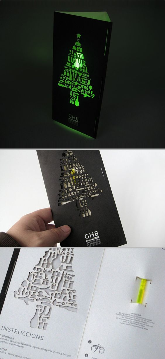 Clever Christmas Card by ATIPUS, a Studio from Barcelona.: