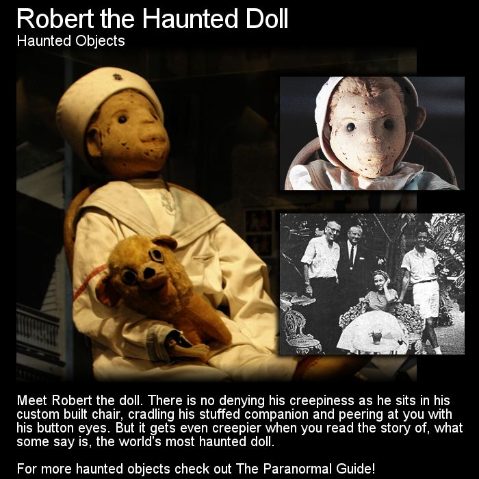 Most Haunted Places In The World With Stories: Robert The Haunted Doll. Robert Is Possibly The Most