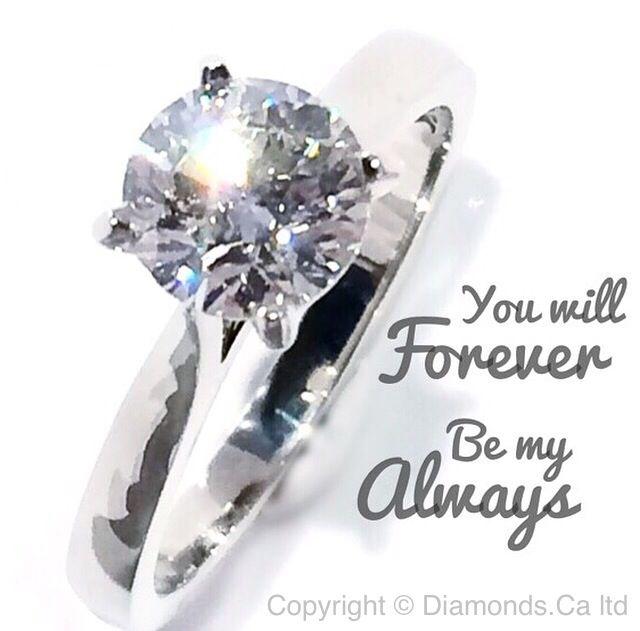 #CanadianDiamonds from Diamonds.Ca ltd #Solitaire #Ring