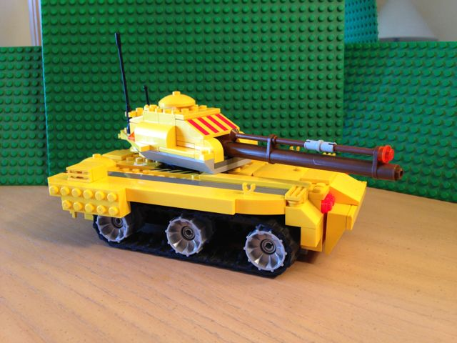 The Armoury: Banana tank!, by RedRover