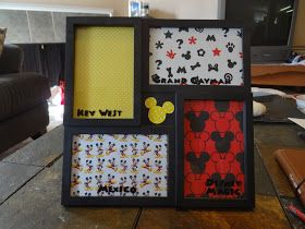 Toadilly Homemade: Disney Frames (Fish Extender Gifts)