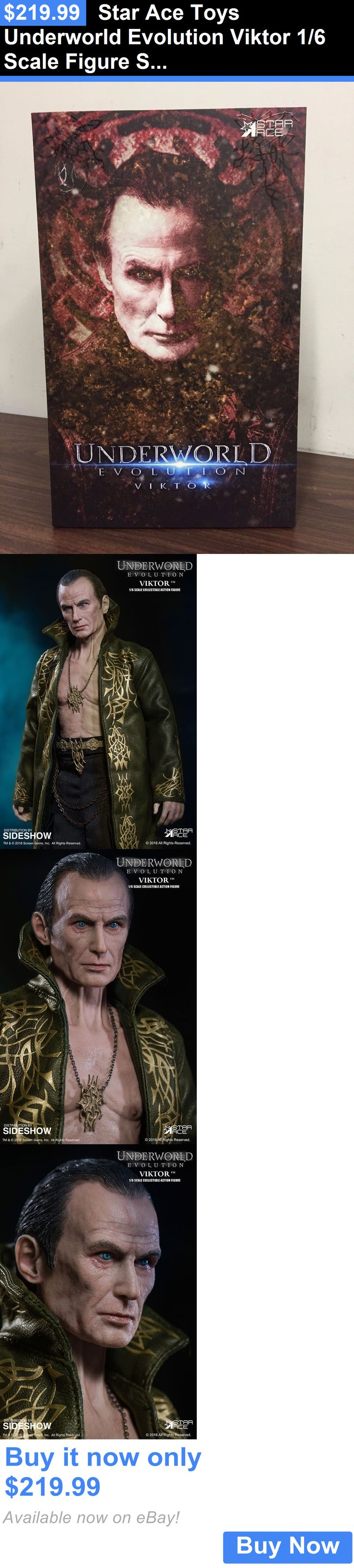 Toys And Games: Star Ace Toys Underworld Evolution Viktor 1/6 Scale Figure Sa0037 BUY IT NOW ONLY: $219.99