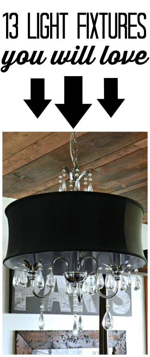 The most affordable chandelier i have seen!  It comes in white, too!