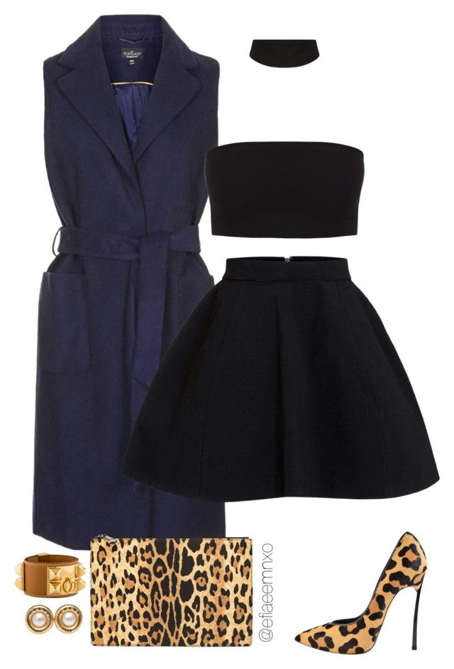 """""""Dream"""" by efiaeemnxo ❤ liked on Polyvore featuring Topshop, Casadei, Givenchy, Hermès and Chanel"""