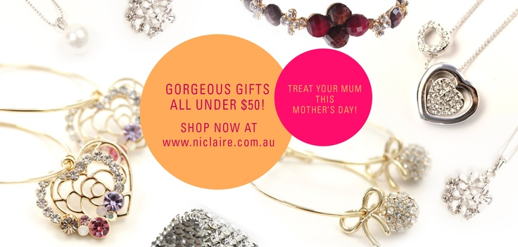Treat your mum this Mothers day with Niclaire <3 http://www.niclaire.com.au/