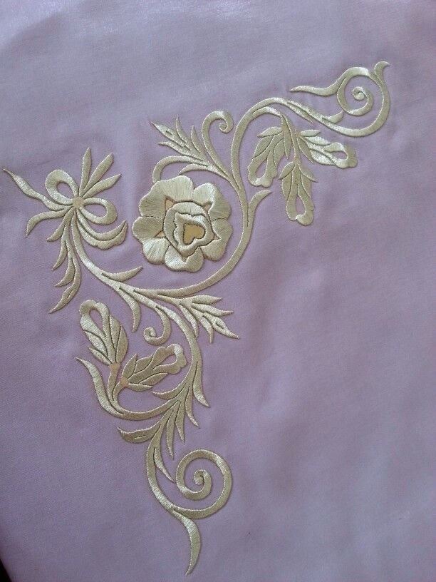 Turk silk hand work embroidery...