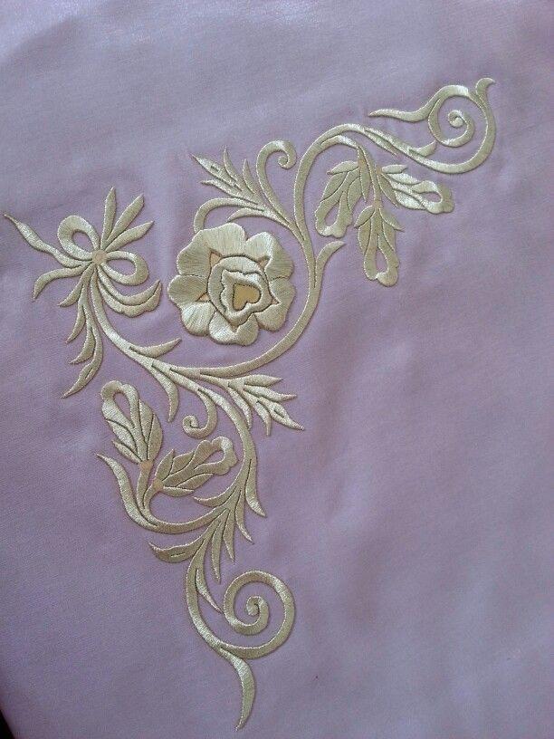 Turk silk hand work embroidery...