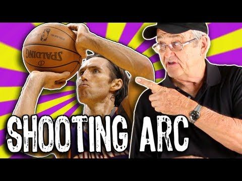 Get PERFECT Shooting Arc!!!  (How to shoot a basketball) -- Shot Science...