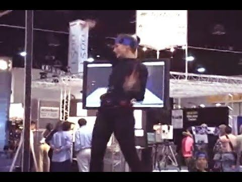 Allan Lundell Motion Captured Avatar (2001) - First real time full body ...