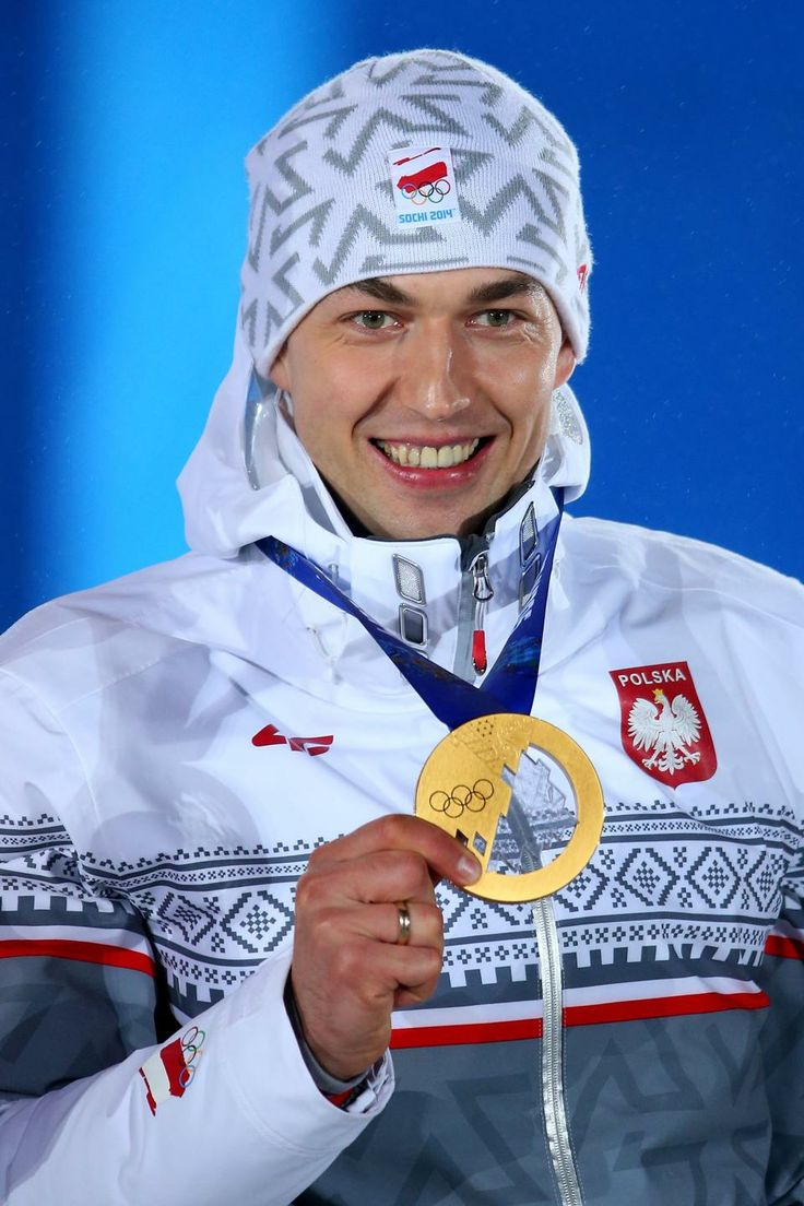SPEED SKATING MEN'S 1500m:  Gold medalist Zbigniew Brodka of Poland