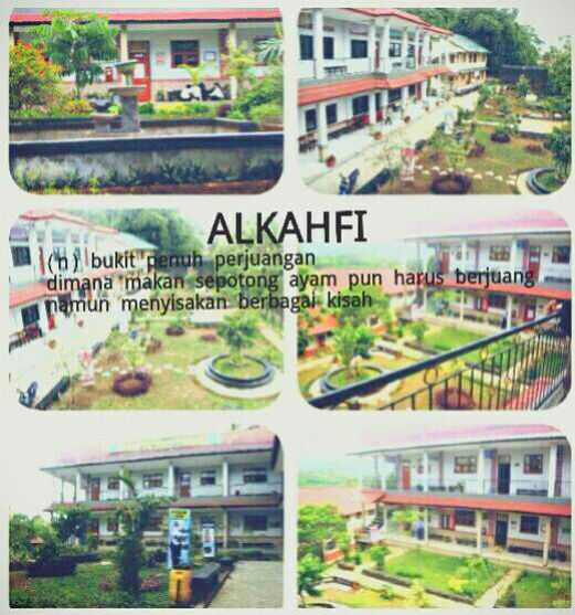 My lovely school. Al Kahfi #boardingschool