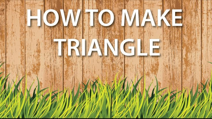 illustrator tutorial : make a triangle.. https://www.youtube.com/watch?v=zx6dy7YZcD4  #video #youtube #tutorial #illustrator #vector #logodesign #adobeillustratortutorials #adobeillustrator #illustratorcc #illustratortutorials