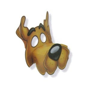 Scooby-Doo Masks (4/pkg)