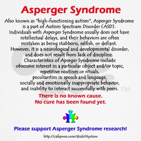 :) ASPERGER SYNDROME