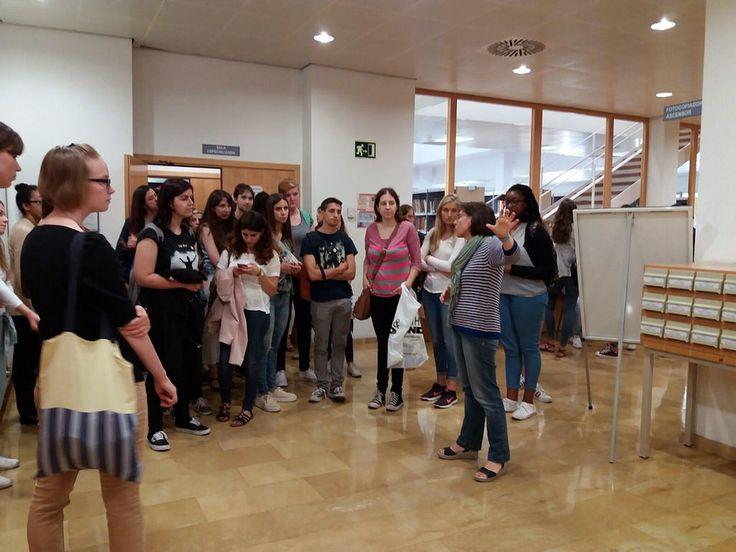 Presentación de la Biblioteca María Moliner, 14 de septiembre de 2017