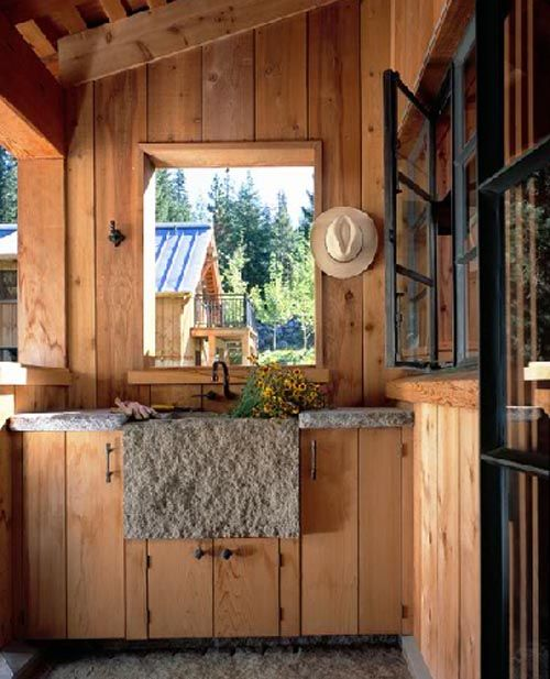 Cabin Kitchen Design Creative Mesmerizing Design Review