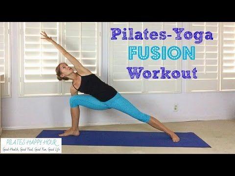 Pilates Yoga Fusion Workout - YouTube