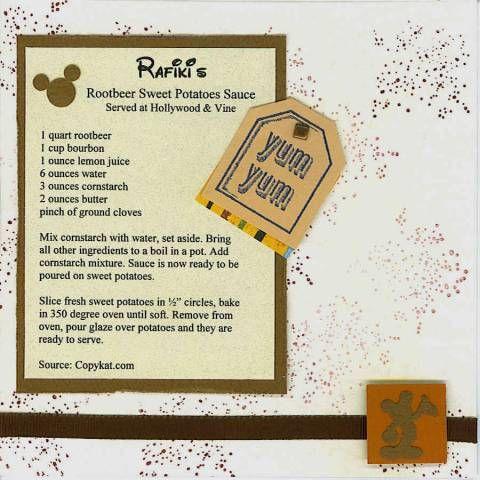 Rafiki's Rootbeer Sweet Potatoes