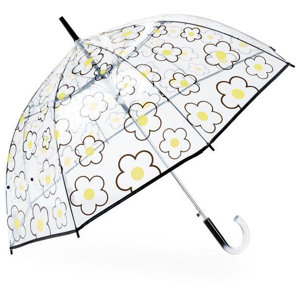 Shedrain Bubble Auto Stick Umbrella (245 MXN) ❤ liked on Polyvore featuring accessories, umbrellas, yellow, transparent bubble umbrella, see through umbrella, shedrain umbrella, yellow umbrella and transparent umbrella