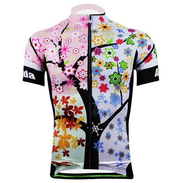 AOGDA Women's Cycling Jersey/Cycling Clothing . Bicycle Roupa Ciclismo Quick-Dry Short Sleeve Outdoor Sportswear 3D Jersey