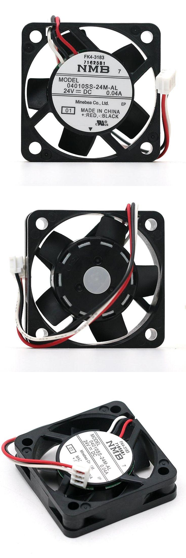 [Visit to Buy] Original NMB 04010SS-24M-AL 4010 24V 0.04A 40mm 40*40*10mm silent quiet axial mini cooling fan #Advertisement