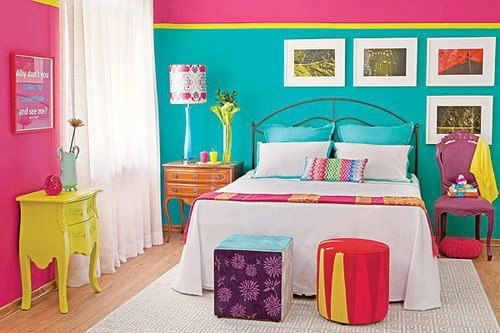 Bedroom is super cute