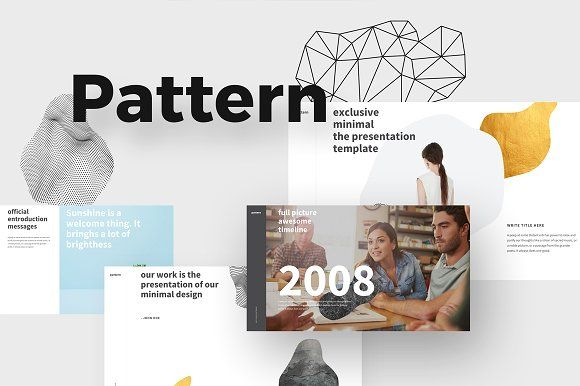 PATTERN Keynote Template by ShapeSlide on @creativemarket