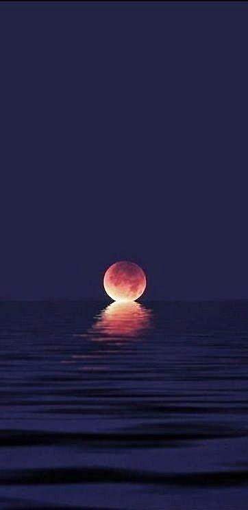 Luna y el mar