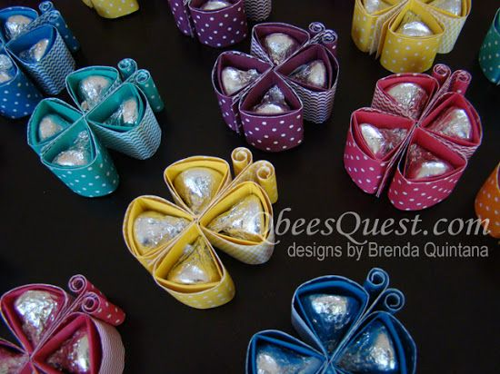 Hershey's Kisses Butterfly Tutorial
