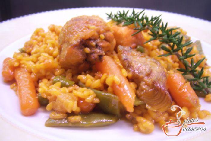 Os encantará su sabor por su gran variedad de verduras.    Descubre la receta: http://www.platoscaseros.es/recetas-de-arroz/paella-de-verduras