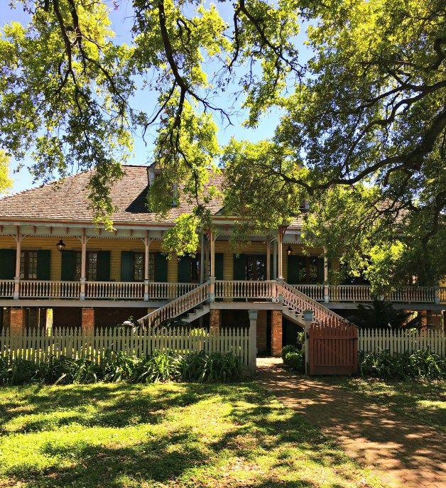 The Laura Plantation, a Creole plantation in Louisiana