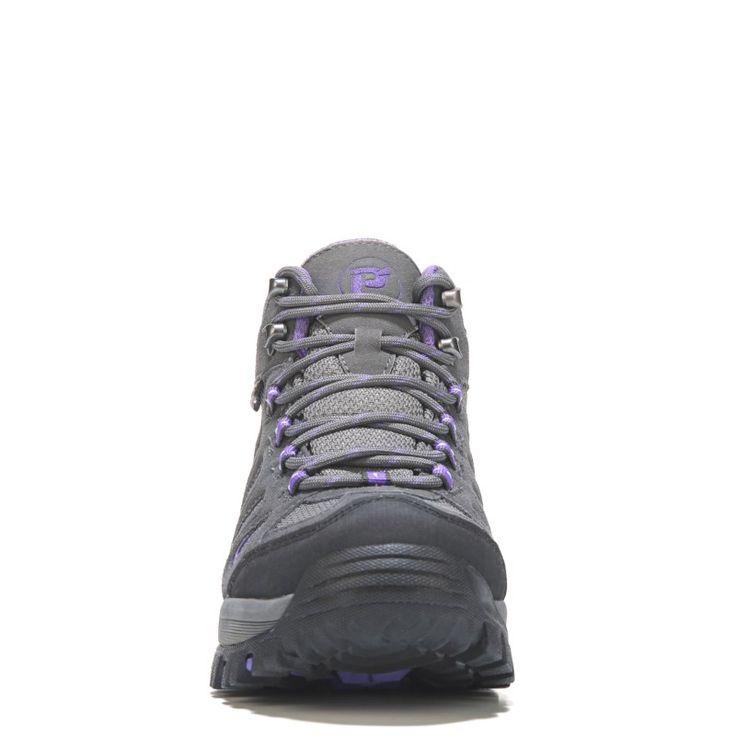 Propet Women's Ridge Walker Medium/Wide/X-Wide Hiking Boots (Grey/Purple) - 10.0 2E