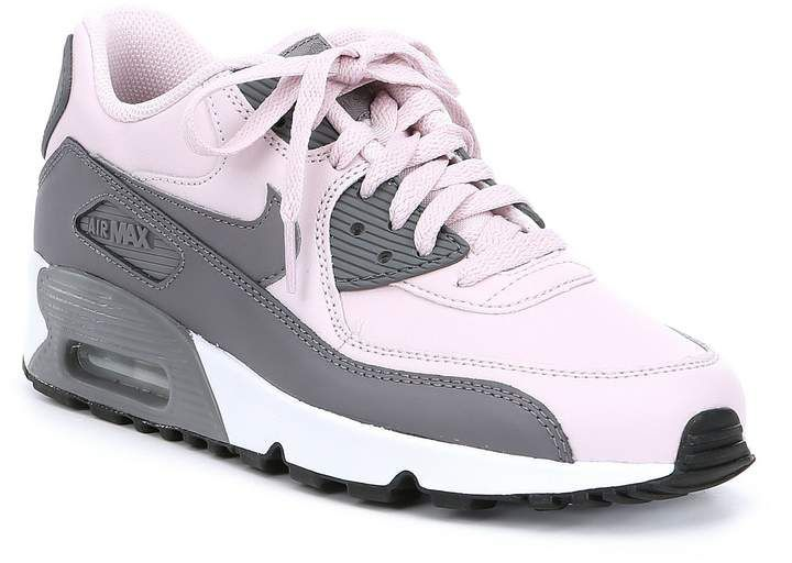 Nike Girls' Air Max 90 Leather Shoes   Compras e Tenis